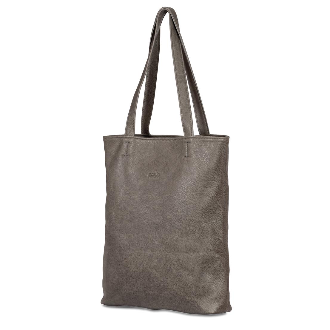 81dc31e6d01 Shopper Robin Grijs – Saskia Thomson Handmade Design