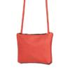 Leren crossbody bag